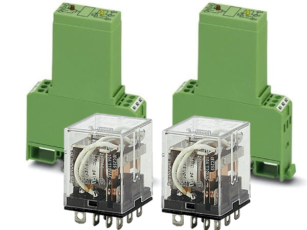 Switching relays