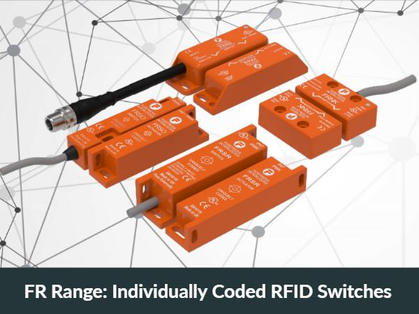FR Range: Individually Coded RFID Switches