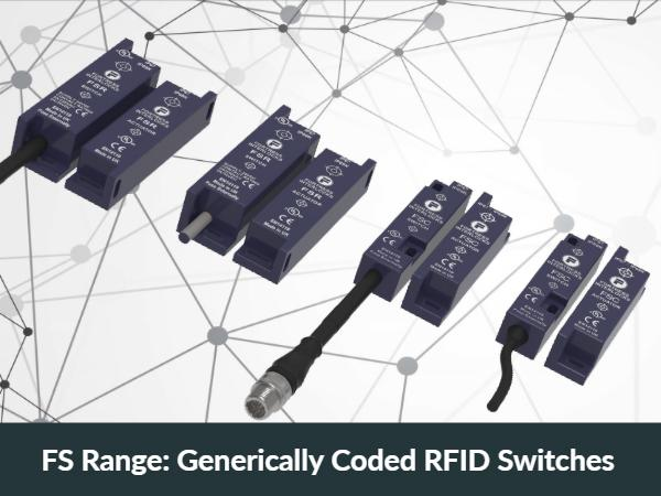 FS Range: Generically Coded RFID Switches