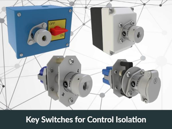Control Isolation Key Switches